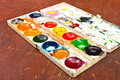 Free Water Colour Paints Royalty Free Stock Photo - 13982635