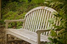 Free Park Bench Royalty Free Stock Image - 13980046