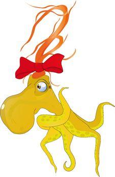 Free Octopus Mum Royalty Free Stock Images - 13980189
