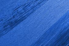 Free Blue Stripes On A Diagonal Royalty Free Stock Photography - 13980887