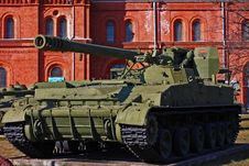 Free Soviet Union Tank Royalty Free Stock Photography - 13981417
