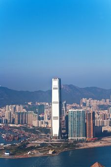 Free Hong Kong City View Royalty Free Stock Photos - 13982428
