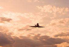 Free Plane In The Sky Stock Photography - 13982972