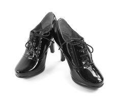 Black Women S Shoes Royalty Free Stock Photo