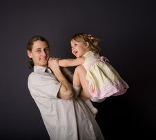 Free Father And Daughter Royalty Free Stock Photography - 13985937