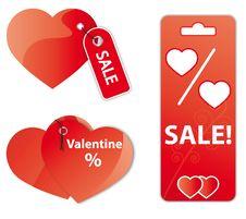 Valentine S Sale Stock Photo