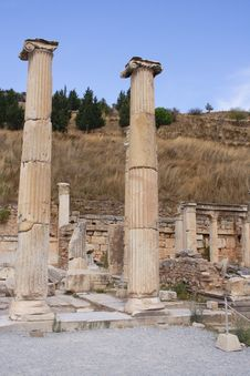 Free Ruins Of Ancient City Ephesus, Turkey Stock Photos - 13986303