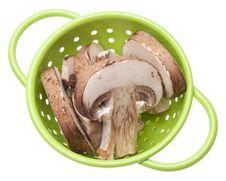 Free Fresh Mushroom Slices Stock Images - 13986754