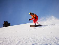 Free Snowboarder Royalty Free Stock Image - 13986886