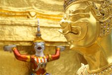 Free Wat Phra Kaew Stock Photography - 13987102