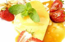 Free Creme Caramel Hearts Stock Image - 13987141
