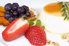Free Panna Cotta Royalty Free Stock Images - 13987319