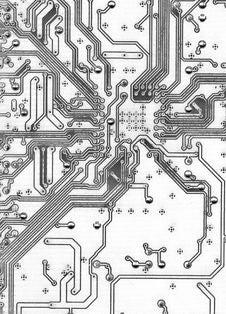 Free Electronic Pattern Stock Photo - 13987570