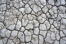 Free Cracked Ground Texture Royalty Free Stock Image - 13987656