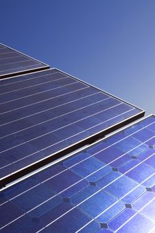 Free Solar Panels Stock Photography - 13987682