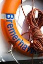 Free Orange Lifebelt Royalty Free Stock Images - 13993469