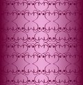 Free Seamless Hearts-like Pattern Stock Image - 13999811