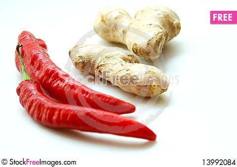 Free Spicy Ingredients 2 Stock Images - 13992084