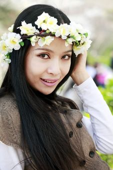 Free Spring Portrait Royalty Free Stock Photos - 13990858