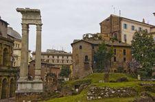 Ruins Of The Apollo Temple Stock Image
