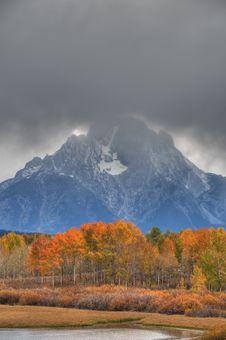 Free Autumn In Teton National Park Royalty Free Stock Photos - 13991398