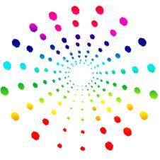 Free Colorful Splash Dots Royalty Free Stock Photography - 13993057