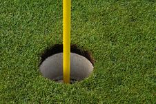 Free Golfcourse Hole Stock Photography - 13993542