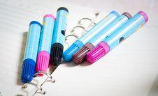 Free Panting Pens Royalty Free Stock Photos - 13993598