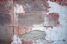 Old Bricks Wall Stock Photography