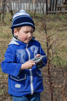 Free Portrait Of Boy Stock Images - 13993934