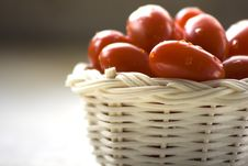 Grape Tomatoes Stock Images