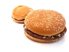 Free Hamburger Royalty Free Stock Photo - 13994395