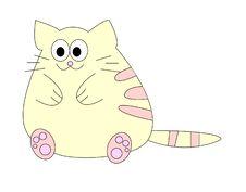 Free Fat Cat Stock Photo - 13995930