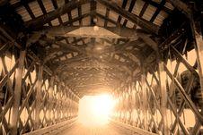 Free Covered Bridge Interior Stock Photos - 13996073