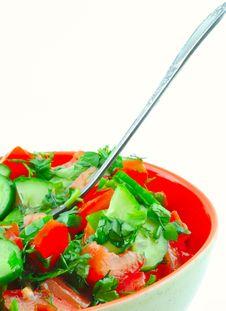 Free Spring Salad Royalty Free Stock Photo - 13996805