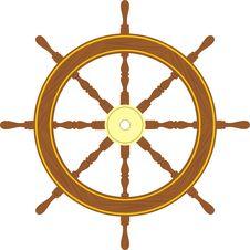 Ship Control Wheel Stock Photos