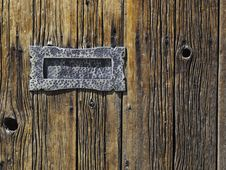 Free Antique Mail Slot Royalty Free Stock Images - 13997069