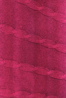 Free Pink Woolen Cloth Stock Photography - 13997102