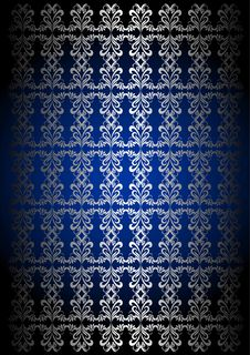 Royal Pattern Background Stock Image