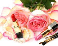 Free Decorative Cosmetics Royalty Free Stock Photos - 13998548