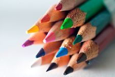 Free Color Pencils Close Up Stock Photo - 13998710