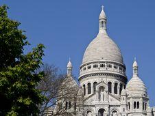 Free Sacred Heart (Sacré-Cœur) In Montmartre Royalty Free Stock Photos - 13998808