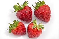 Free Group Of Strawberries Stock Photo - 13998880