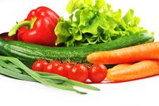 Free Fresh Vegetables Royalty Free Stock Images - 13998889