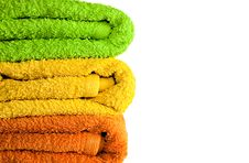 Free Towels. Stock Image - 13999321