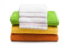 Free Towels. Royalty Free Stock Images - 13999329