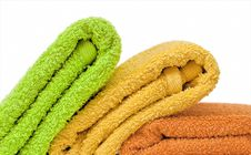 Free Towels. Stock Images - 13999334