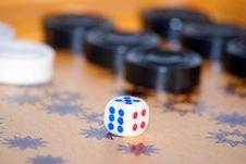 Backgammon Royalty Free Stock Photos