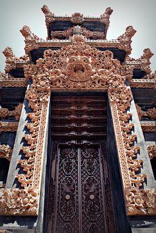 Free Balinese Door Stock Photos - 13999953
