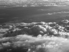Free Over The Clouds B&W Stock Photography - 140202